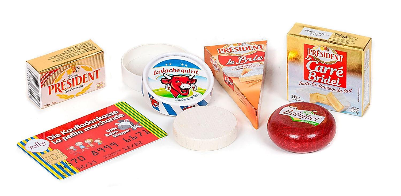 Polly 4472 - Set La Petite Marchande : Produits laitiers Polly Spielwaren