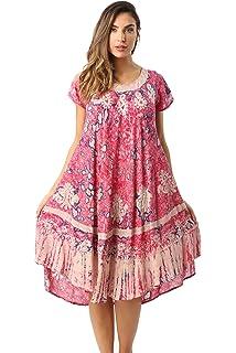 6f5c04c29d7 Riviera Sun Tie Dye Summer Dress with Raglan Eyelet Sleeve ...