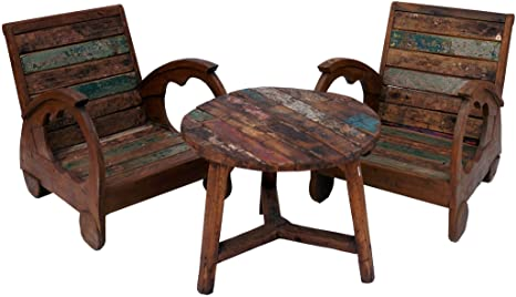 Mesas De Centro Grandes De Madera.Guru Shop Juego De Muebles Grandes Muebles De Madera De