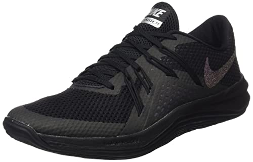 130e7055e711 Nike Women s Lunar Exceed TR MTLC Black Training Shoes  Amazon.in  Shoes    Handbags