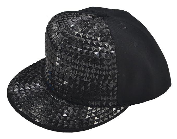 06d481a8c4ec6 New Flat Hat Baseball Cap Hip-hop Hats Fashion Sequins (one size ...