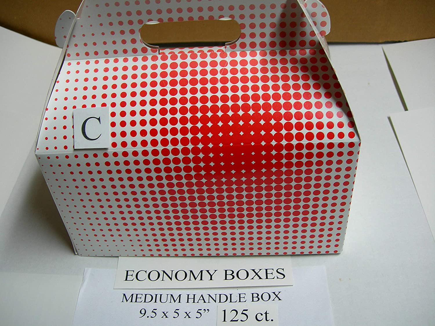 Economy LG. Chicken TAKE Out Handle BARN Box 125ct for BROASTER Henny Penny Fryer