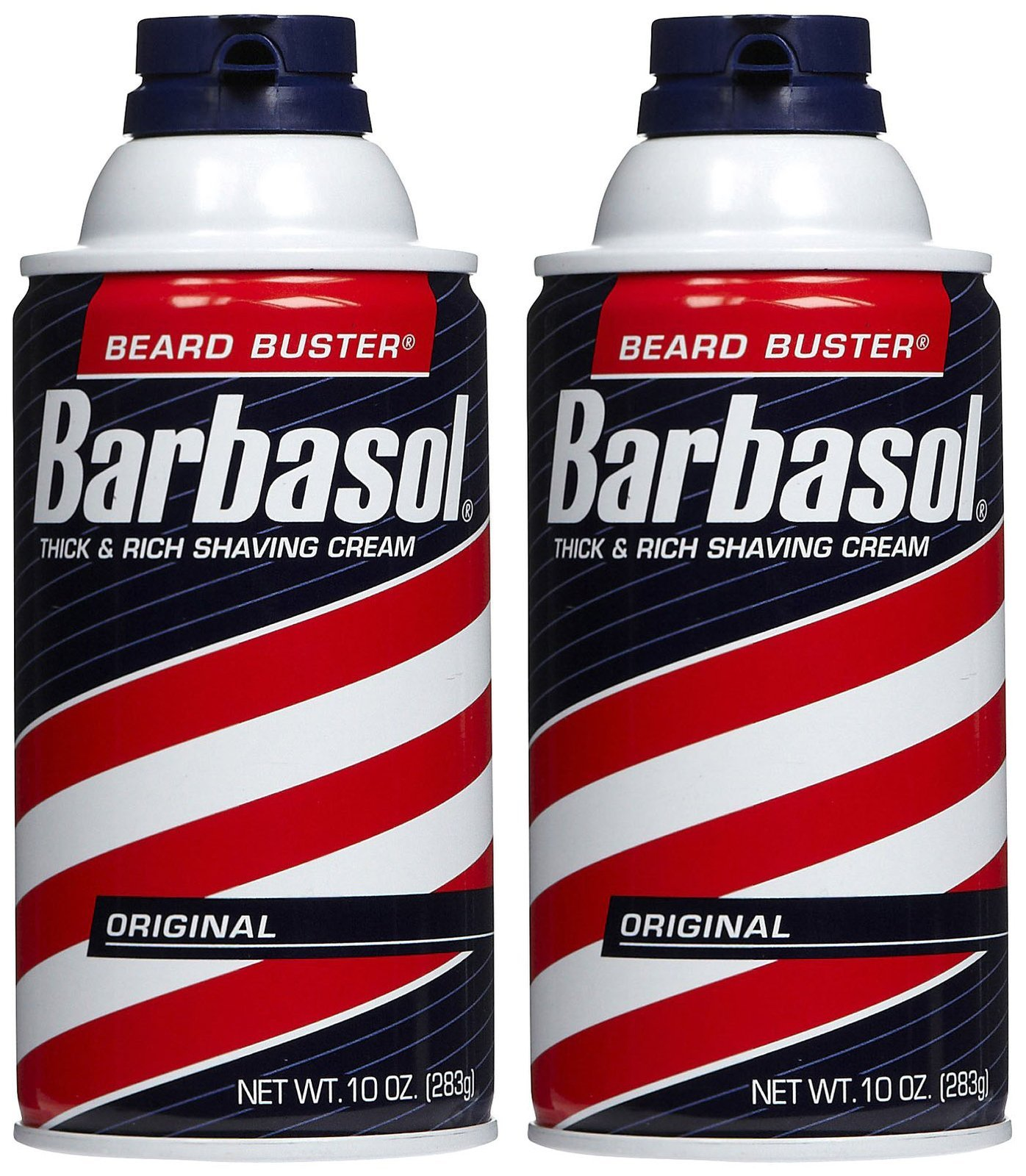 Barbasol Shave Cream, Original - 10 oz - 2 pk