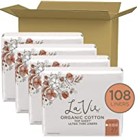 Deals on 4 Pack La Vie Organic Cotton Top Sheet Panty Liners