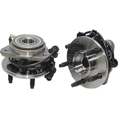 Brand New (Both) Front Wheel Hub and Bearing Assembly Mazda B3000/B4000; Ford Ranger 4x4 5 Lug W/ABS (Pair) 515013 x2 [NO PULSE LOCK]: Automotive
