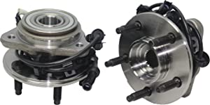 Brand New (Both) Front Wheel Hub and Bearing Assembly Mazda B3000/B4000; Ford Ranger 4x4 5 Lug W/ABS (Pair) 515013 x2 [NO PULSE LOCK]