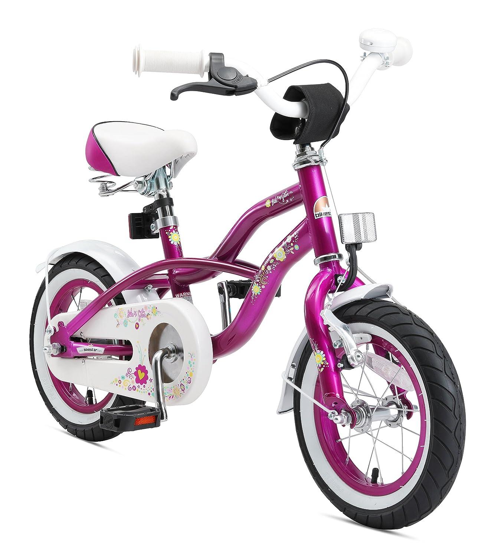 Bikestar Bicicleta para niños ★ 12 Pulgadas ★ Color Turquoise ★ Frenos de Tiro Lateral y Freno de contrapedal ★ A Partir de 3 años ★ 12 Cruiser Edition 2018 Star-Trademarks