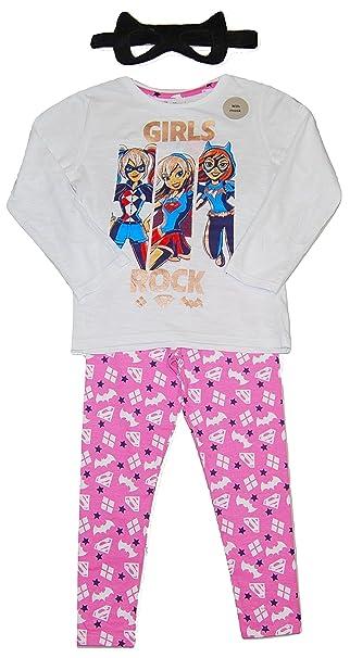 2a416cc47 DC Super Hero Girls - Pijama - para niña  Amazon.es  Ropa y accesorios