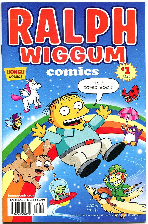 Amazon com: RALPH WIGGUM #1, NM, Police child, Bart Simpson, Matt