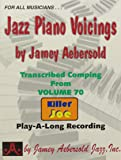 Jazz Piano Voicings -Play Along Recording-Volume 70