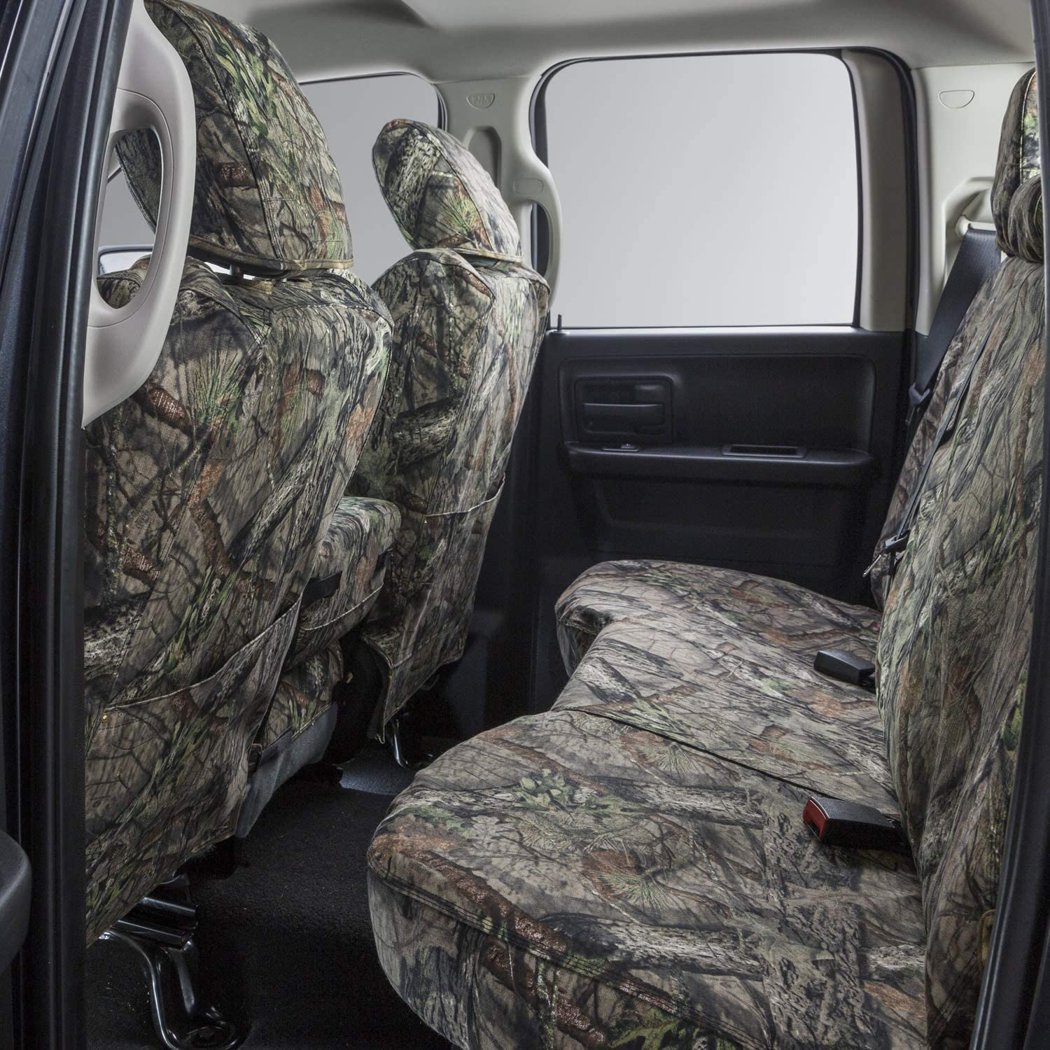 Duck Weave Covercraft Carhartt Mossy Oak Camo SeatSaver Front Row Custom Fit Seat Cover for Select Honda CR-V Models Break-Up Country