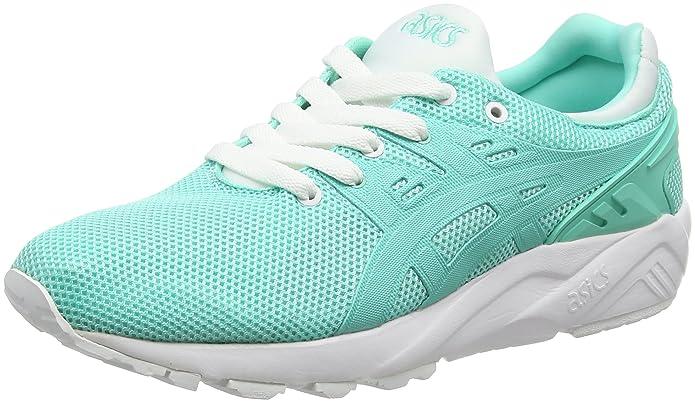 Asics Gel-Kayano Trainer Evo, Chaussures de Running Compétition Femme - Green (Cockatoo/Cockatoo), 37 EU