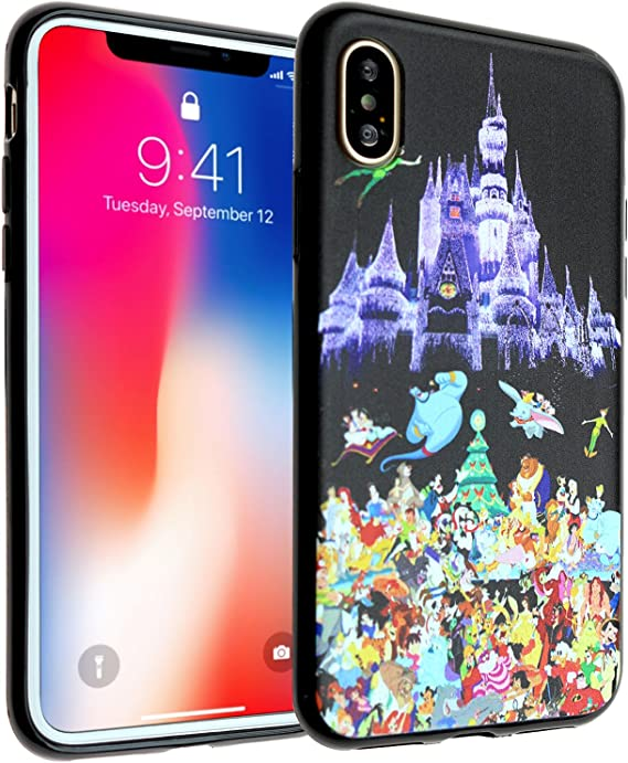 Classic Disney Castle Beauty and the Beast iphone case