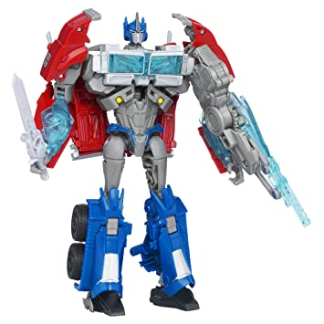 Amazon Com Transformers Prime Robots In Disguise Autobot Optimus