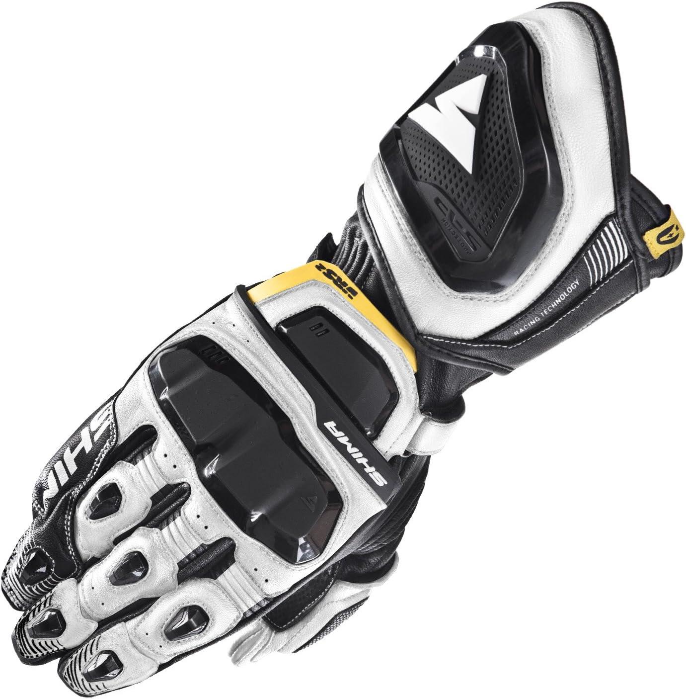 guantes de moto de cuero deportivo Shima