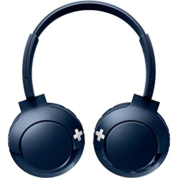 PHILIPS Sealed Type Bluetooth Wireless Headphone SHB3075BL (BLUE)【Japan Domestic genuine products】