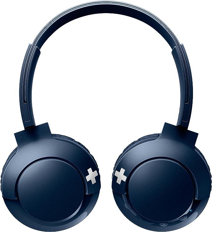 Philips SHB3075BL - Auriculares Inalambricos (con micrófono ...