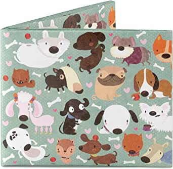 Mighty Wallet Men's Happy Dogs, One Size