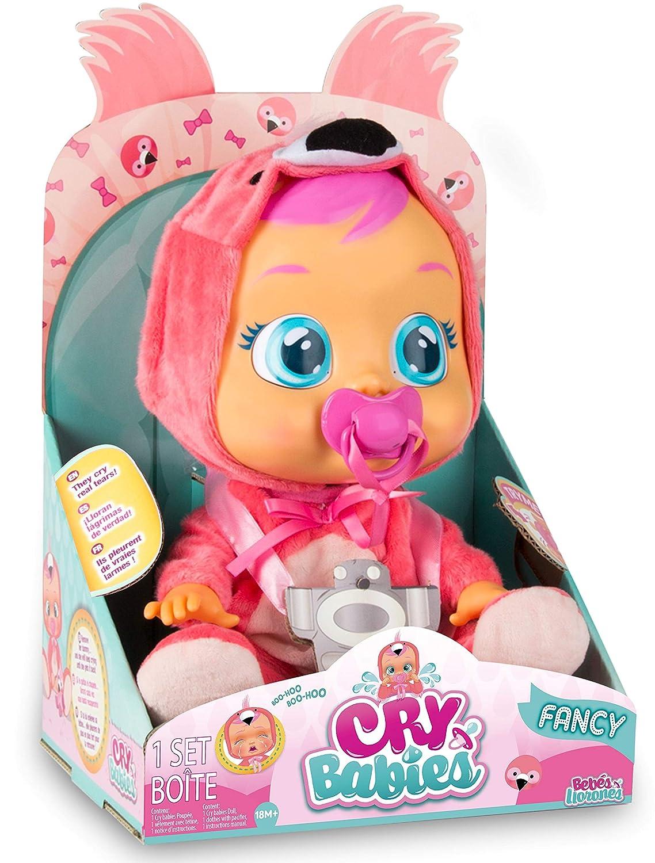 IMC Toys 97056 Fancy - Muñeca Bebés Llorones, Multicolor