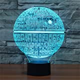 Amazon Price History for:3D Illusion Platform Night Lighting Touch Botton 7 Color Change Decor LED Lamp