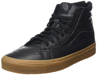 cf037a66529f79 Vans Woven SK8-Hi Reissue Zip DX Mens Skateboarding-Shoes VN-A38GN6HV 4.