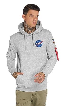 Alpha Industries Herren Hoody Space Shuttle Hoodie Pullover NASA S bis 3XL NEU