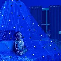 Dosel para cama de niños con estrellas Glow