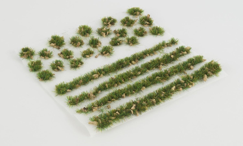 WWS Summer Alpine 6mm Self Adhesive Static Grass x 100 Tufts