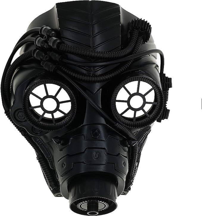 Amazon.com: Máscara veneciana para hombre mecánica de estilo ...