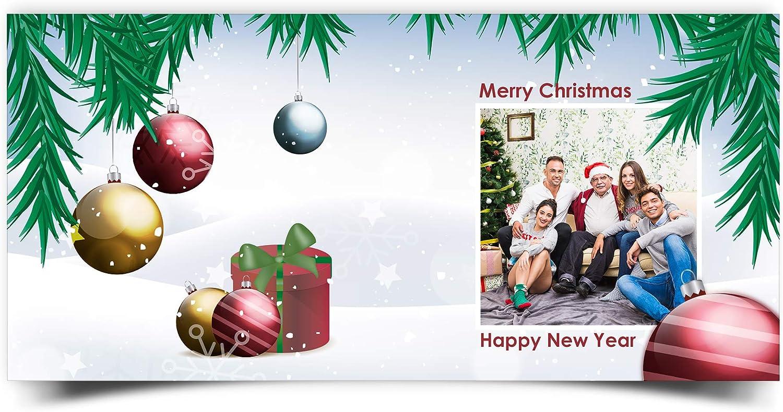 LolaPix Postales Navidad Personalizadas con Foto/Nombre/Texto ...