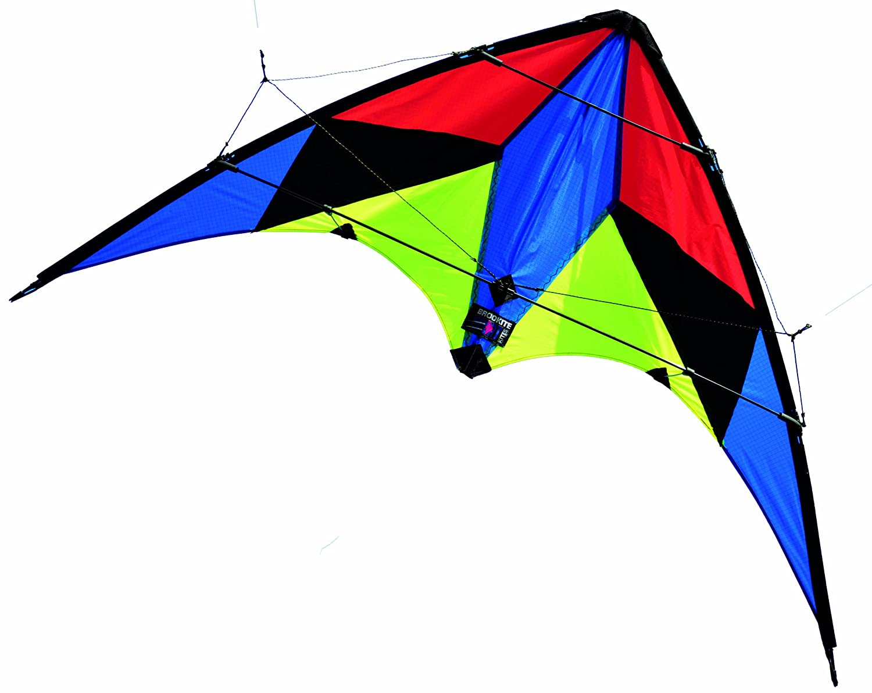 brookite phantom sport kite green blue yellow black 117 x 66 cm