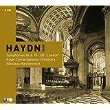 """Haydn : Symphonies 68 et 93 à 104 """"Londoniennes"""" (coffret 5 CD)"""
