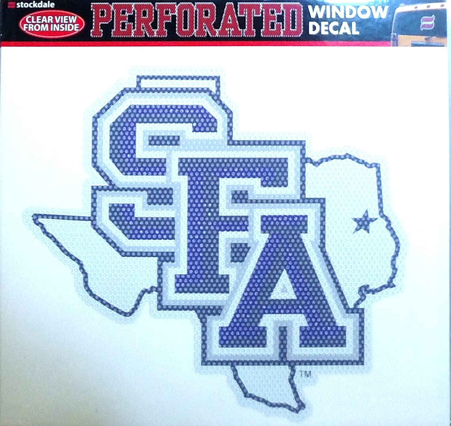 Stephen F Austin Lumberjacks SFA SD Medium 8' Perforated Auto Window Film Decal University of