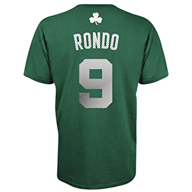 8e249013c3d Rajon Rondo Boston Celtics Radiant Green Jersey Name and Number T-shirt XX- Large