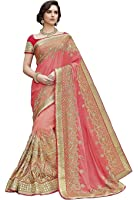 Magneitta Women's Clothing Saree Collection in Multi-Colored Georgette For Women Party Wear,Wedding With Blouse Piece