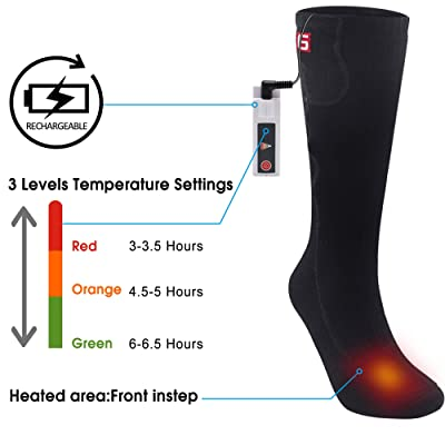 GLOBAL VASION Electric Heated Socks Review