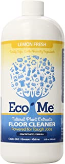 product image for Eco-me Natural Plant-Based Concentrated Multi-Surface Floor Cleaner, Clear, 32 Fl Oz