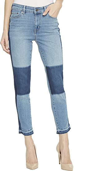 f98dd9813c3 Lauren Ralph Lauren Women s Premier Straight Crop Jeans Shadow Patch Wash  12 26