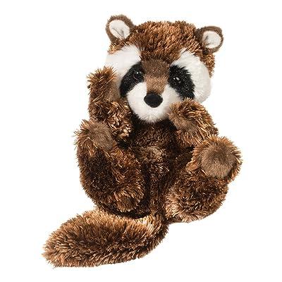 Douglas Raccoon Lil' Handful Plush Stuffed Animal: Toys & Games