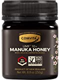 Comvita Certified UMF Raw Manuka Honey New Zealand's #1 Manuka Brand Premium Grade Non-GMO Superfood, Dark Amber, UMF 10…