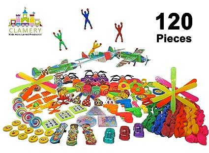 Amazon.com: Favores de fiesta para niños – 120 piezas de ...