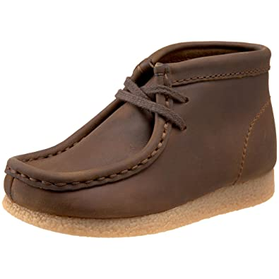 7bcd183b0315 Clarks Toddler Wallabee Ankle Boot