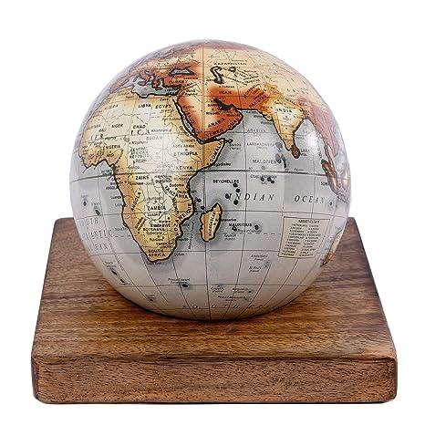 Globus Weltkugel Karte.Globus Weltkugel Antik Stil Wandkarte Welt Weltkarte Vintage