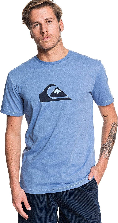 Hombre Quiksilver Comp T-Shirt Men Camiseta de Manga Corta