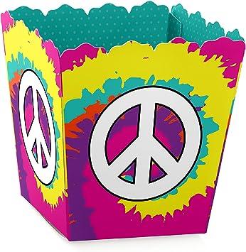 Amazon.com: 60 De Hippie – Candy Boxes 1960s Groovy Party ...