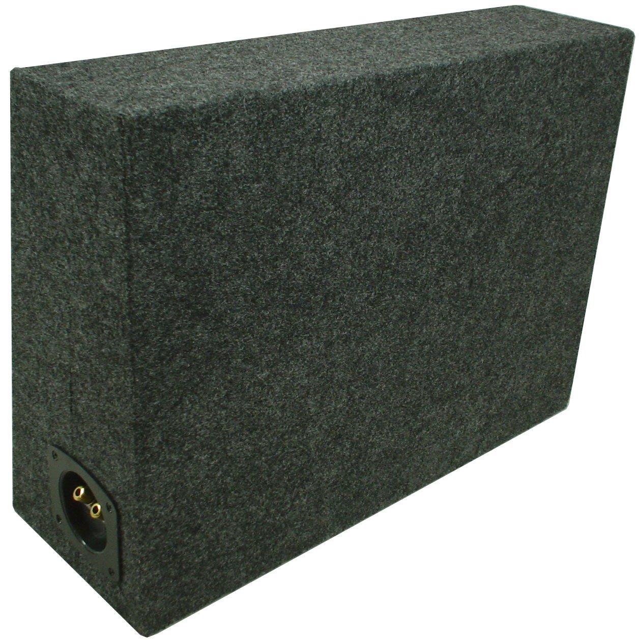 ASC Single 10'' Subwoofer Universal Regular Standard Cab Truck Sealed Sub Box Speaker Enclosure