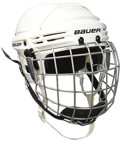 923b5832267 Amazon.com   Bauer New 2100 Hockey Helmet Combo White Small 1036882 ...