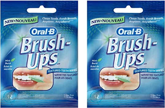Twin Pack oral b cepillo dientes de textura UPS toallitas: Amazon.es ...