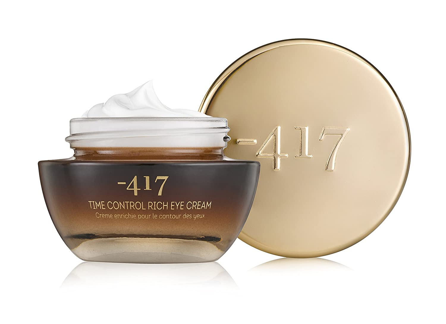 -417 Dead Sea Eye Cream Time Control Rich Eye Cream - Anti-Aging, Firms and Tightens Skin Best Eye Creme for Dark Circles, Puffiness and Wrinkles