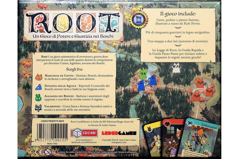 MSEDIZIONI Root - Il gioco da tavolo - Italian: Amazon.es ...